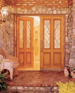 entry door wood